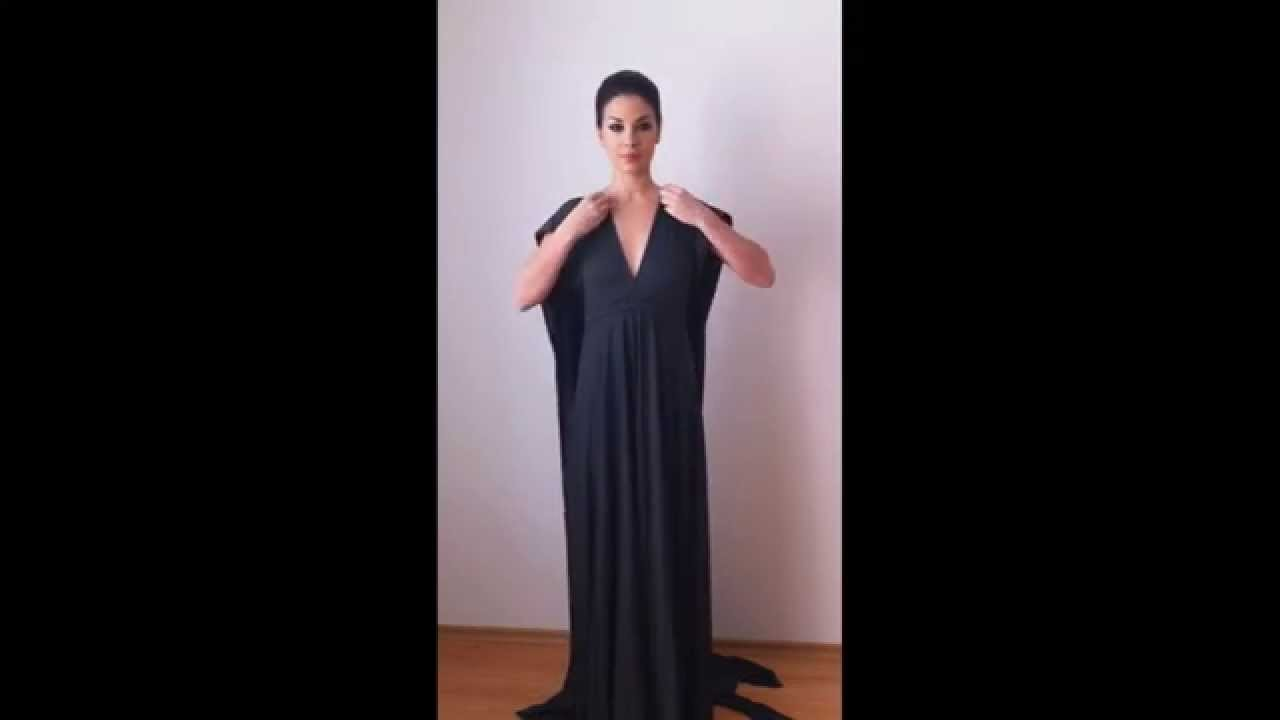 How to wrap the convertible infinity dress tutorial etsy