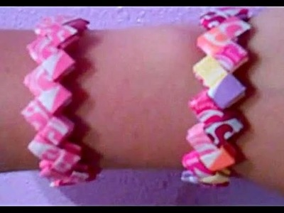 Howto make a Starburst Wrapper Bracelet