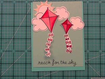 Intro to Sunny Skies + 3 cards from start to finish { Lawn Fawn }