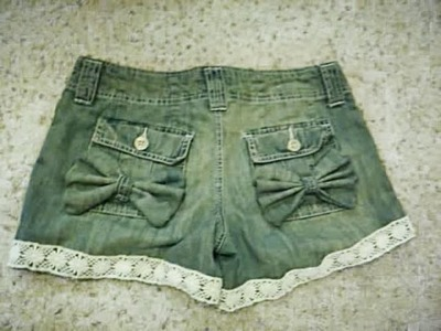 Jean Series: Jeans UPCYCLED into Shorts