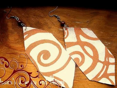 June Sale  Fabric Earrings  and Updates