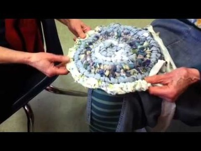 Nancy Today: Toothbrush rag rug tutorial 1 at Mera ASMR