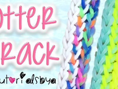 NEW Otter Track Rainbow Loom Bracelet Tutorial | How To