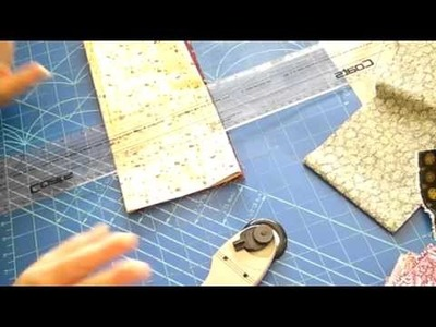 Patchwork, Quilting. Journal Cover - Tutorial P2 of 9