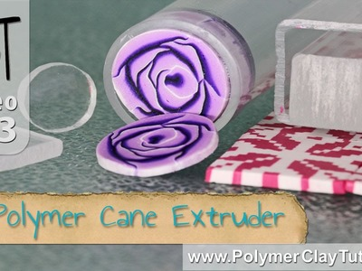 Polymer Cane Extruder Tool For Slicing Polymer Clay Canes