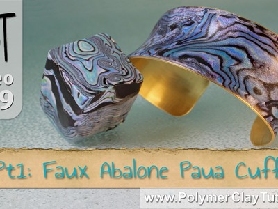 Polymer Clay Faux Abalone Paua Cuff Tutorial Series (Intro)