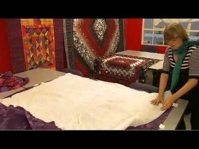 Quilting For Everyone - Make a Quilt Sandwich