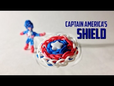Rainbow Loom Avengers Series: Captain America's Shield