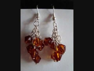 Red Devil Jewellery - Handmade Earrings Gallery (Part One)