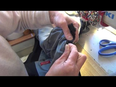 SEWING BY LOAN IN SF HAND SEW LINING HEM JACKET