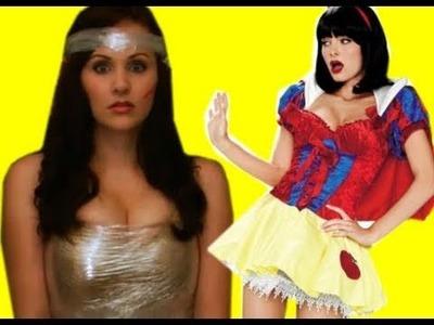 Slutty Halloween Costumes (Plus Giveaway Winner Announced)