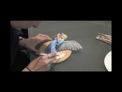 The Making Of My First Angel Sculpture - Time Lapse - By Amy DeCaro - music by Sigur Rós