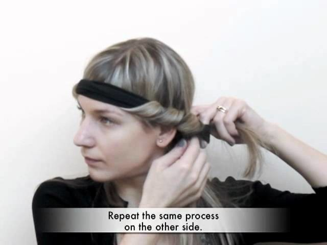 Trade Secrets - How to curl your hair using a Bohemian headband
