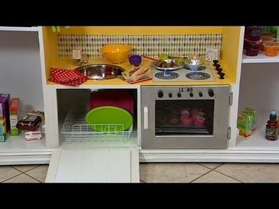 TV cabinet toy kitchen