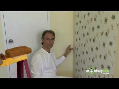 Wallpaper Installation in a Corner Part 1