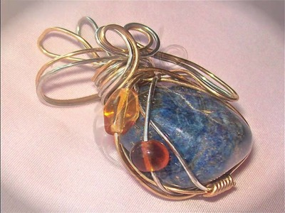 Wire Wrapped Pendants and Jewelry on Etsy