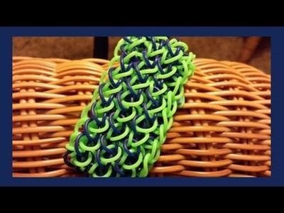Alligator Skin Bracelet on the Rainbow Loom