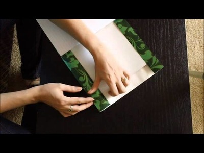 Belinda's Tutorials: Cover a book with paper