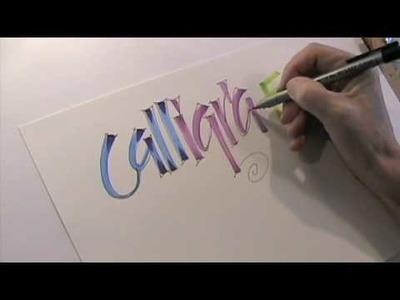 Calligra-Fun!!  Gettin' Ziggy with it!!!