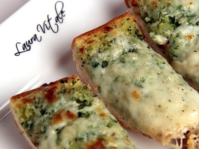 Cheesy Garlic Bread Recipe - Laura Vitale - Laura in the Kitchen Episode 288