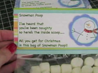 Christmas Holiday Co-worker gift Snow Man Poop