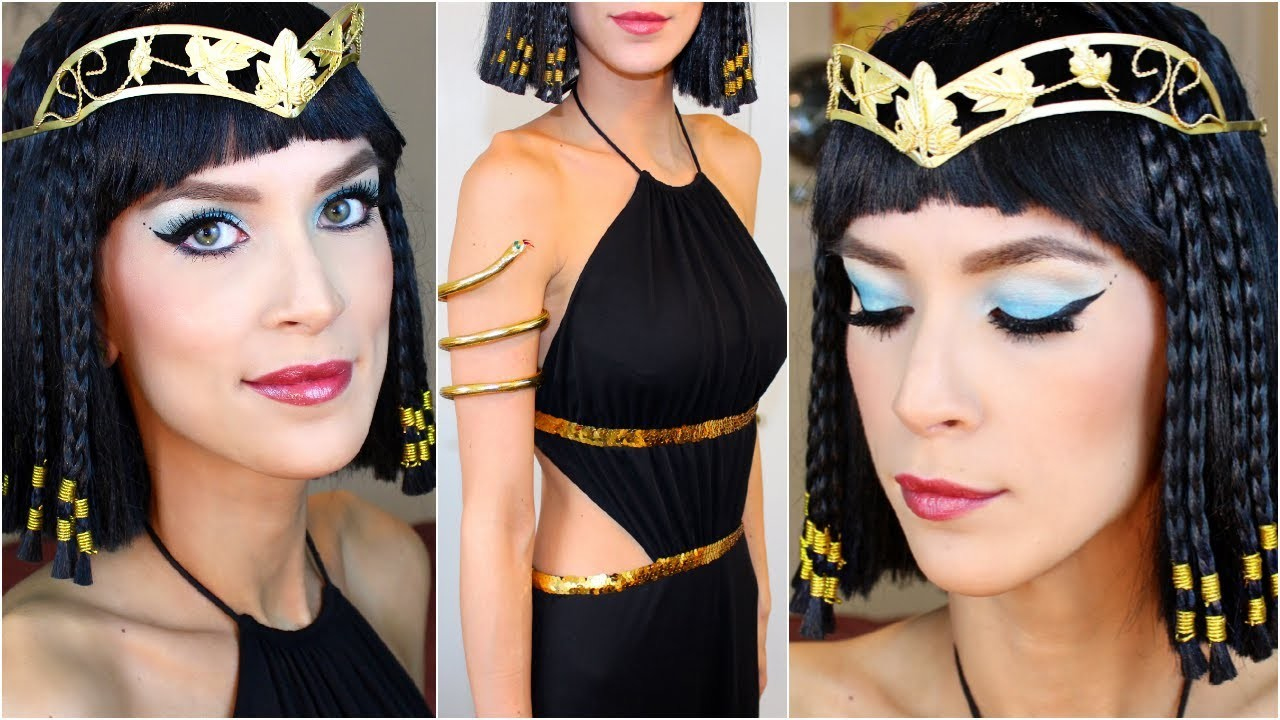 Cleopatra Halloween Costume Makeup Tutorial