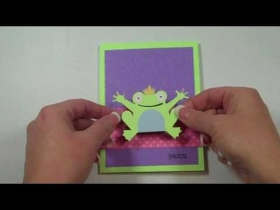 Cricut Tutorial Episode 178 - Paisley Froggie Card
