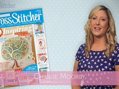 CrossStitcher's January issue: Video from the Editor!