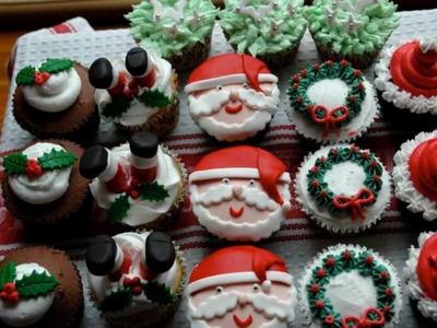 Cupcake Ideas: Santa Christmas Cupcake Ideas
