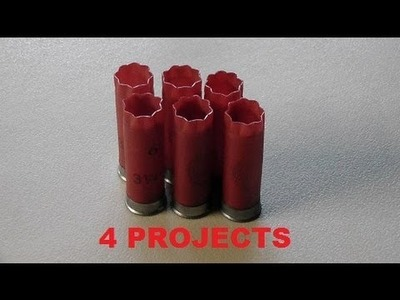 Four things you can build with empty shotgun shells