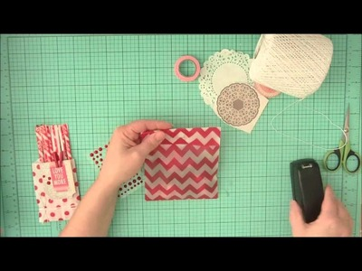 Happy Valentines Video Series: Creating Valentine Treat Bags