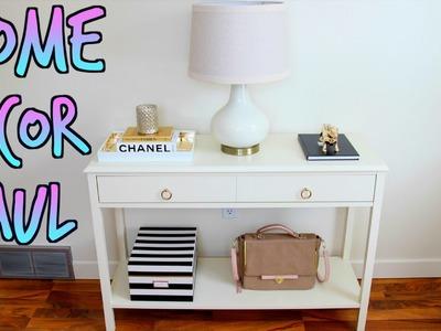 Home Decor Haul - Target, TJ Maxx, Threshold Windham Console Table & More