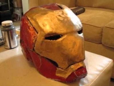 Home made Iron Man Helmet
