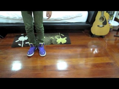 How to do Gliding, Moon Walk, Side Walk, Air Run, Air Walk: Tutorial