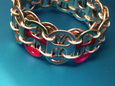 ≣ How to end a Tab Bracelet Tutorial ≣