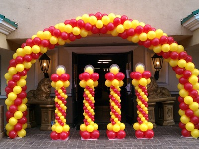 How to Make a Balloon Arch - Balloon Decoration Ideas