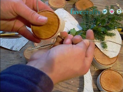 How to Make a Birch Bark Wreath