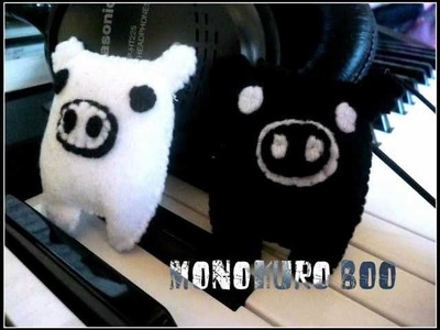 How to Make a Kawaii MonoKuro Boo Plushie (Plush Tutorial)