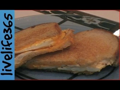 How to. Make a Killer Fried Egg Grilled Cheese Sandwich