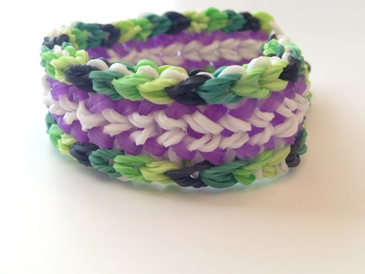 How To Make The Inner Dragon Rainbow Loom Bracelet