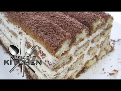 HOW TO MAKE TIRAMISU - VIDEO RECIPE