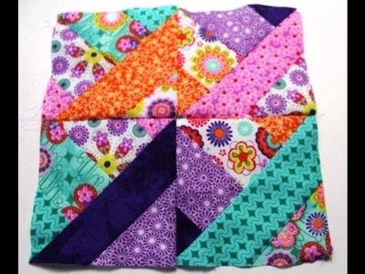 How to #Sew Quilt squares using Jelly Roll -Video One