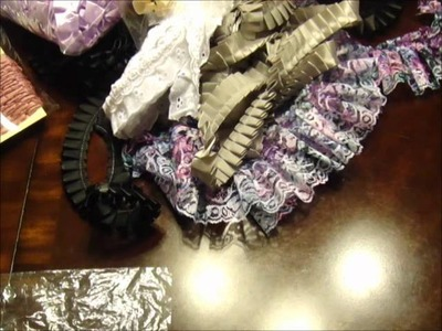 Huge CHEAP GORGEOUS TRIM HAUL from an Etsy n Ebay shop I discovered!!!