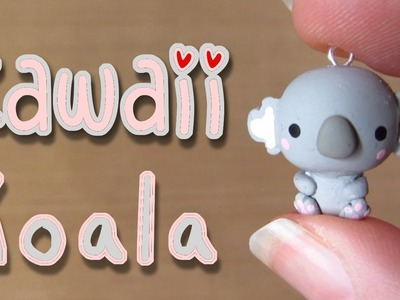 Kawaii Koala Tutorial: Polymer Clay Charm
