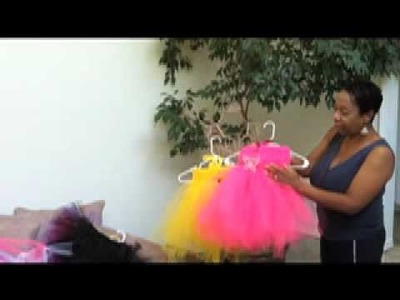 Learn How to make a Tutu Dress Part 1 Sample Dresses