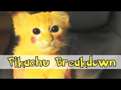 Make a Pikachu in After Effects & Mocha Tutorial - P1