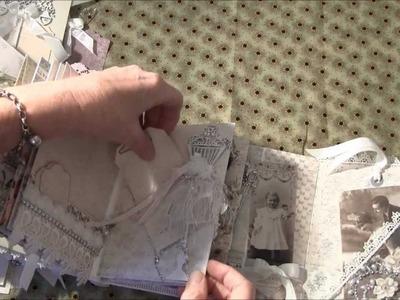 Mini album with Pion design paper