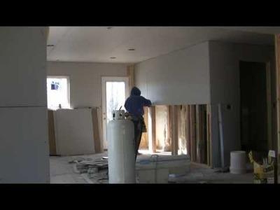 MTKD hanging sheetrock Part 2. One Man Drywall