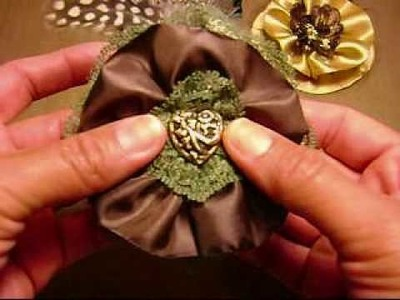 "My ""Jule Box"" handmade flowers! (#140)"
