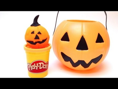 Play Doh Halloween Pumpkin Jack-o-Lanterns Play Doh Halloween Decorations Toys
